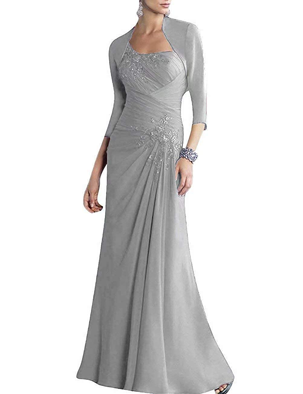 0673285d45f RONGKIM Women s Two Piece Mermaid Mother of The Bride Long Evening Wedding  Gown at Amazon Women s Clothing store