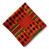 Kuwaha African Kente Print Pocket Square