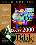 img - for Microsoft? Access 2000 Bible book / textbook / text book