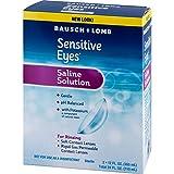 Bausch + Lomb Sensitive Eyes Plus Gentle Saline