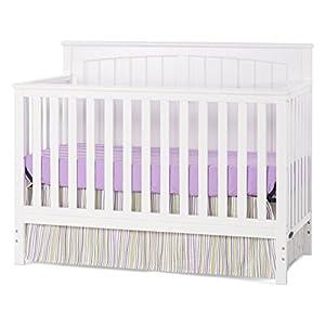Child Craft Sheldon 4-in-1 Convertible Crib, Matte White
