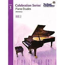 Celebration Series Piano Etudes 2015 Edition - Level 3