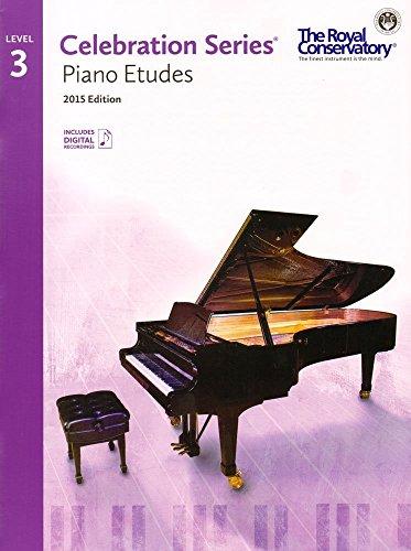 C5S03 - Royal Conservatory Celebration Series - Piano Etudes Level 3 Book 2015 Edition