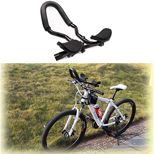 VGEBY1 Bike Rest Handlebar Bicycle Relax Rest Armrest Handlebar Bike Arm Rest Clip Aluminum Alloy Cycling Handle Sleeve with Sponge Cushion