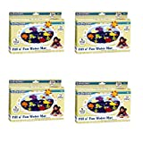 Earlyears Fill 'N Fun Water Play Mat for Tummy Time (4 pack)