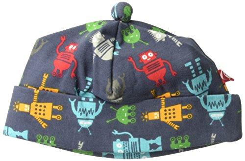 Zutano Baby Boys' Printed Cotton Hat, Bots, Preemie/Newborn (Cotton Hat Zutano)