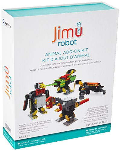 UBTECH JIMU ROBOT Animal Add On Kit - Digital Servo & Character Parts For All JIMU ROBOT Kits Building Kit All Robots