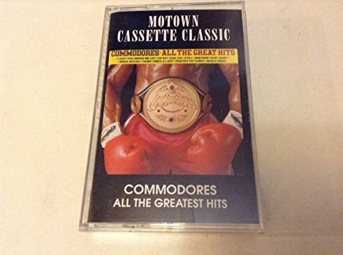 Commodores All Time Greatest Hits- Motown Cassette Classic