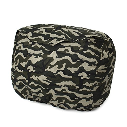 Camouflage Polyester 34x56x47.5cm Dustproof Generator Cover Flap for Honda EU2000i ()