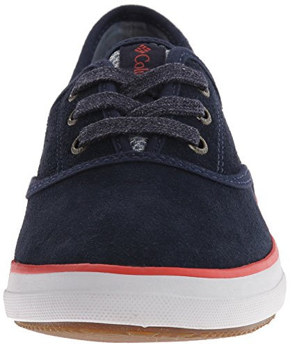 Columbia Womens Vulc N Vent Lace Suede Casual Shoe Collegiate Navy 50IsWFAbo