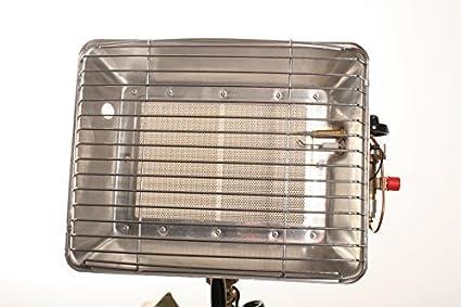 Gas Estufa rápido y fácil de usar. Calefactor de gas con aluminio de pantalla Cuenta