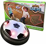 Easony 3-12 Year Old Boy Toys, Hover Football with Goal Toy for 3-12 Year Old Boys Gifts for Girls 3-12 Years Old BlackY ESUSFF03