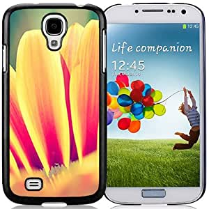 Fashionable Designed Cover Case For Samsung Galaxy S4 I9500 i337 M919 i545 r970 l720 With Gazania Petals Flower Mobile Wallpaper Phone Case