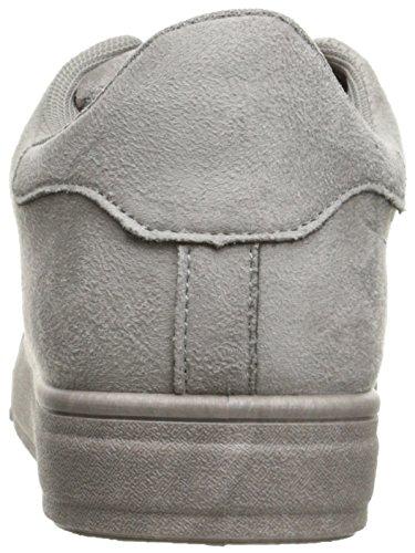 Qupid Mujeres Picton-01 Fashion Sneaker Gris Claro