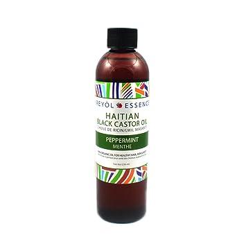 Amazon.com: Negro aceite de ricino, de Haití Romero Menta ...
