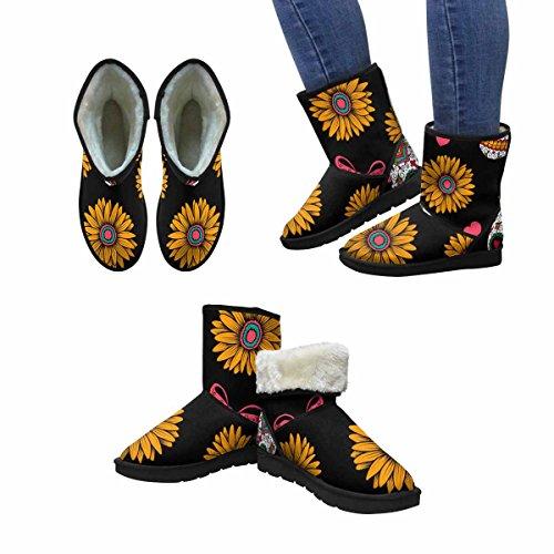 Snow Stivali Da Donna Di Interestprint Sandali Messicani Stivali Invernali Comfort Dal Design Unico Multi 1