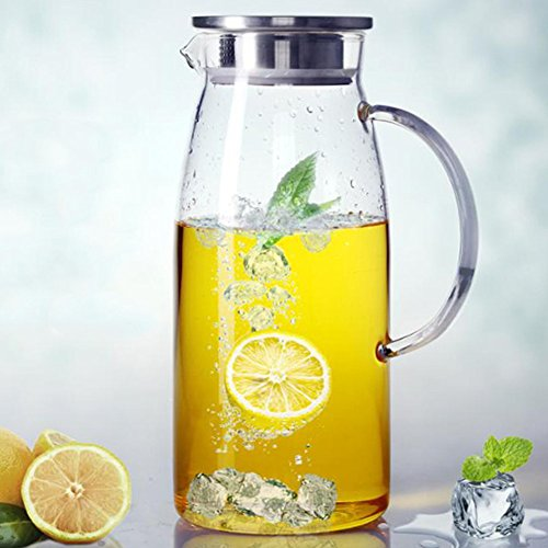 Ounces Glass Pitcher Beverage Carafe product image