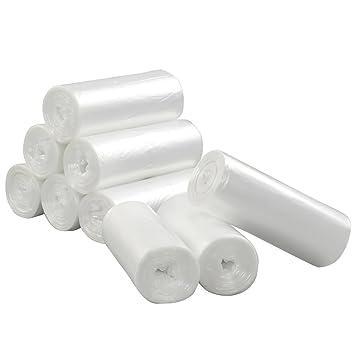 Amazon.com: Vababa - Bolsas de basura transparentes de 3 ...