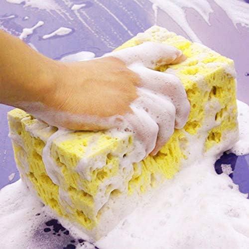 Josenap カーケア洗濯機ダスター自動車洗車クリーニングスポンジブロックツール