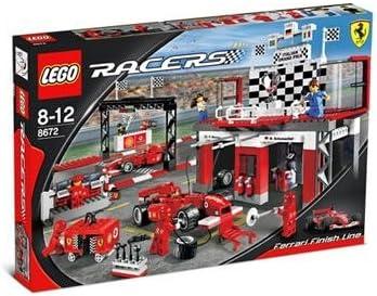 LEGO Racers 8672 Ferrari Finish Line by LEGO