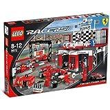 レゴ (LEGO) レーサー フェラーリ  F1フィニシュライン 8672
