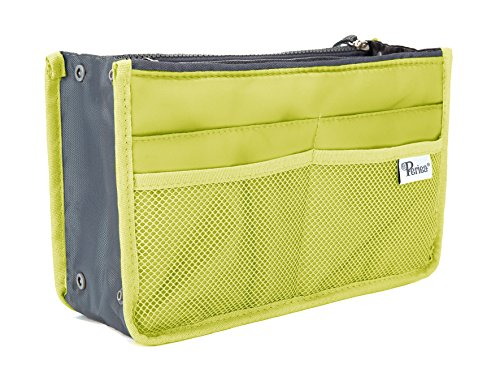- Periea Handbag Organizer - Chelsy (Medium, Apple Green)