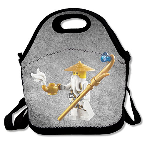 Bakeiy Ninjago Masters Of Spinjitzu Lunch Tote Bag Lunch Box Neoprene Tote For Kids And Adults For Travel And Picnic - George Camping World St