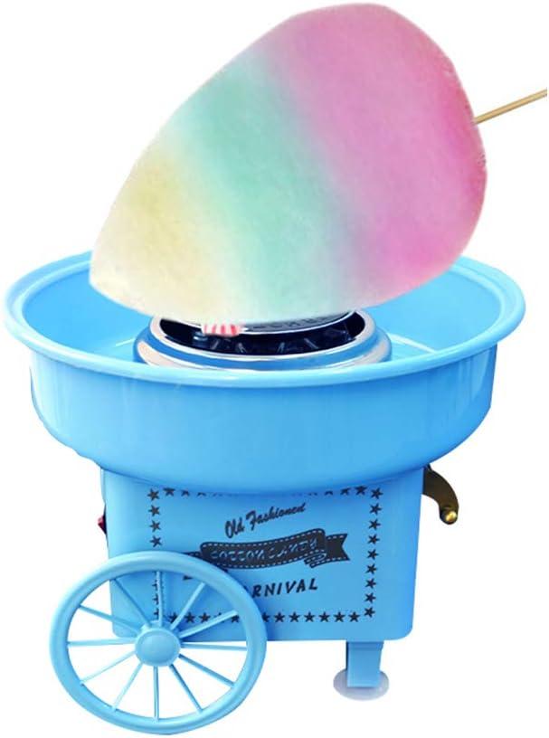 LCZ Máquina de algodón de azúcar para la imaginación de la casa de algodón máquina de Dulces máquina de algodón algodón de azúcar DIY Mini-Mini Home niños: Amazon.es: Deportes y aire libre