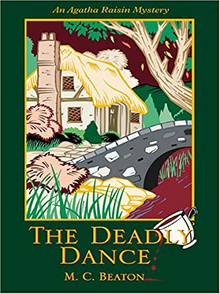 book cover of Agatha Raisin and the Deadly Dance