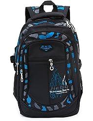 Netchains Casual Student School Backpacks Cute Daypack Bookbags Waterpoof Travel Knapsack Bags