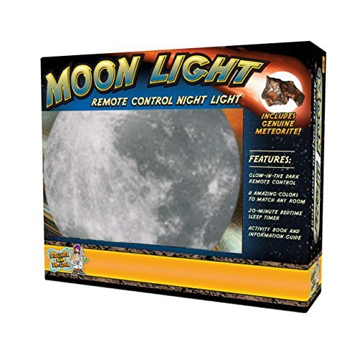 Moon Light – Deluxe Edition w/ AC Adapter – 7 Color Settings (2017 Release with New, Battery-Saving (Night Sky In My Room)