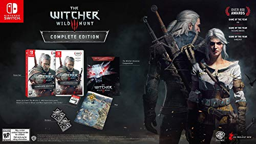 51VDHpgyDgL - Witcher 3: Wild Hunt - Nintendo Switch