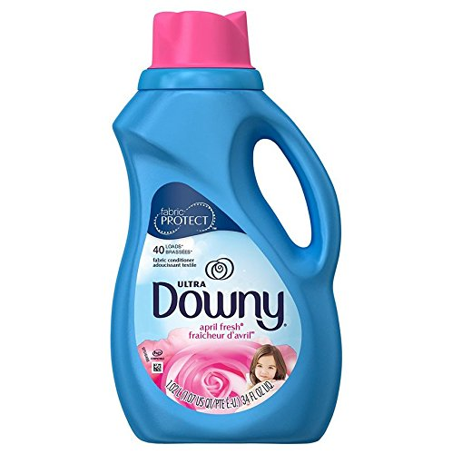 Downy Fabric Softener, 40 loads, 34 fl oz - Downy Fabric Softener Liquid
