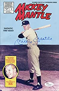 Mickey Mantle Autographed Comic (JSA)