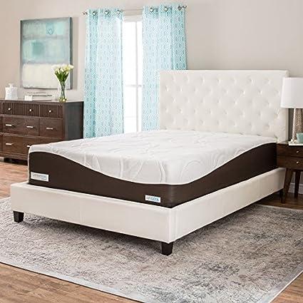 simmons mattress. Simmons Beautyrest ComforPedic From BeautyRest 14-inch King-size Gel Memory Foam Mattress