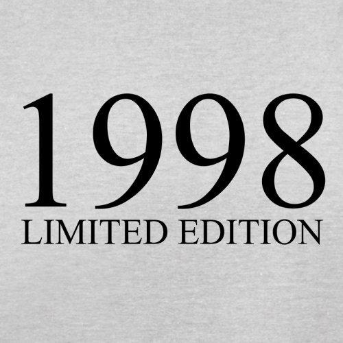 1998 Limierte Auflage / Limited Edition - 19. Geburtstag - Herren T-Shirt - Hellgrau - XXXL
