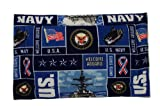 Navy Dog Mat (XL) 48'' x 30''
