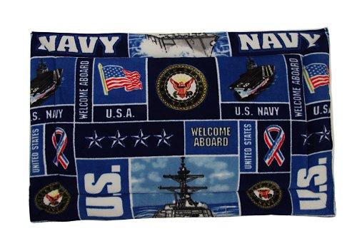 Navy Dog Mat (XL) 48'' x 30''