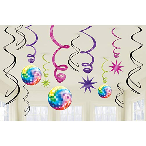 70 Theme Party (70's Party Swirl Decorating)