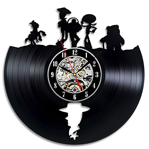 Toy Story Gift Art Decor Wall Clock Home Record Vintage Decoration