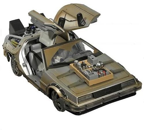 Back To The Future III Rail Ready Delorean 1:15 [Import allemand]