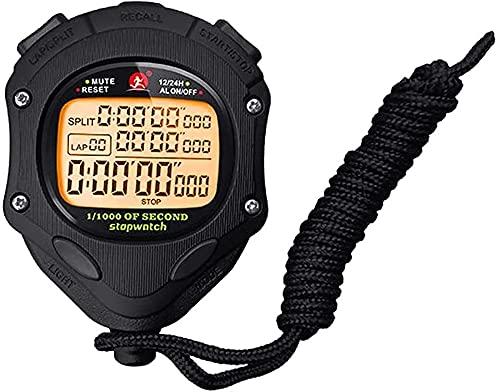 GLLP Stopwatch Timer Metalen Ronde Wijzerplaat Timer, Track En Veld Fitness Running Timer Wedstrijd Training Stopwatch…