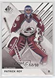 Patrick Roy #/33 (Hockey Card) 2016-17 Upper Deck SP Game Used - [Base] #94