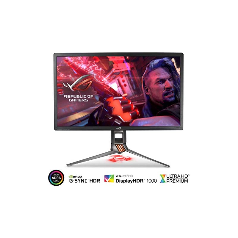 "ASUS ROG Swift PG27UQ 27"" 4K UHD 144Hz D"