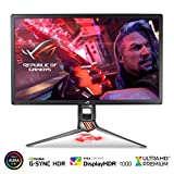 "ASUS ROG Swift PG27UQ 27"" Gaming Monitor 4K UHD 144Hz DP HDMI G-SYNC HDR Aura Sync with Eye Care"
