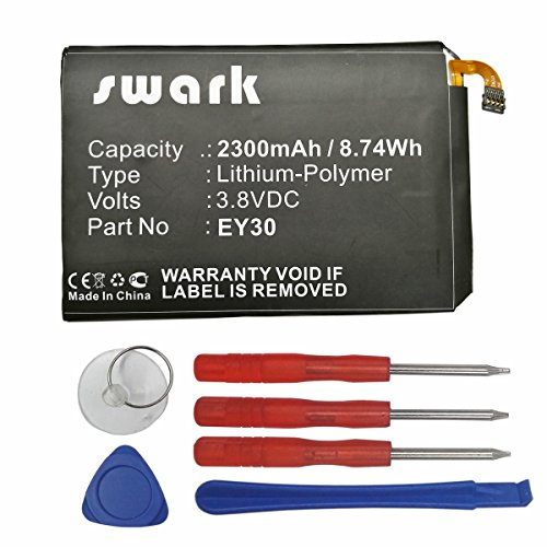 Price comparison product image Swark 2300mAh Li-Polymer Replacement EY30 SNN5945A Battery for Moto X 3605,  Moto X+1,  Motorola XT1092,  XT1096,  XT1097,  XT1085,  New Moto X 2015,  Moto X 2nd 2015 + Tools