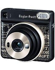 Fujifilm Instax Square SQ6 Taylor Swift Edition + 1 Taylor Swift Limited Edition Square Film, Black