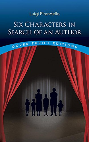 Six Characters in Search of an Author (Dover Thrift Editions)