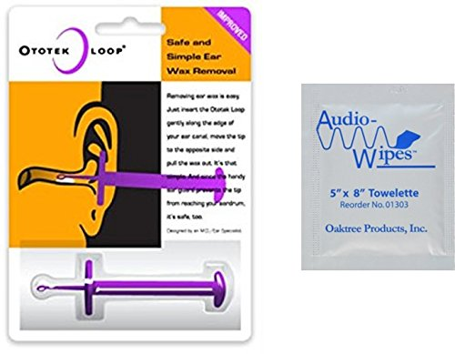 Ototek Loop Ear Wax Removal Tool and Audiologist's Choice...