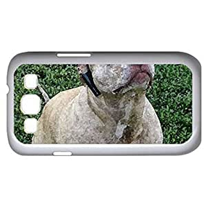 HALLOWEEN DOGGY - Case Cover for Samsung Galaxy S3 i9300 (Dogs Series, Watercolor style, White)
